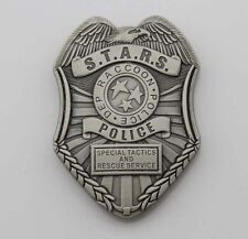 Resident Evil Biohazard s.t.a.r.s. Stars Raccoon Police Dep Badge Money Clip