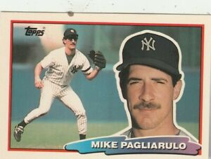 FREE-SHIPPING-MINT-1988-Topps-Big-New-York-Yankees-138-Mike-Pagliarulo