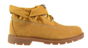 Details zu Timberland Basic Roll Top Men's Boots Wheat 6634a