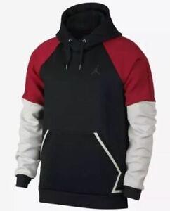 apariencia estética mayor selección estilo popular Detalles de Nike Jordan Ropa Deportiva Vuelo Tech Diamante Hombre Sudadera  con Capucha S