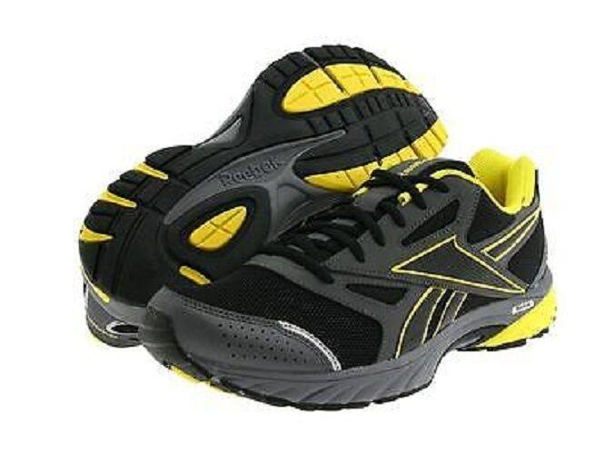 Nuove azioni di di di formazione scarpe reebok doublehall nero / grigio / giallo j88136 numero 9 f73509