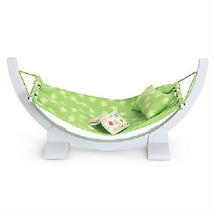 American-Girl-Lanies-HAMMOCK-SET-pillow-journal-for-Lanie-Doll-of-the-Year