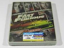 The Fast and the Furious Blu-ray Steelbook [USA] OOS/OOP