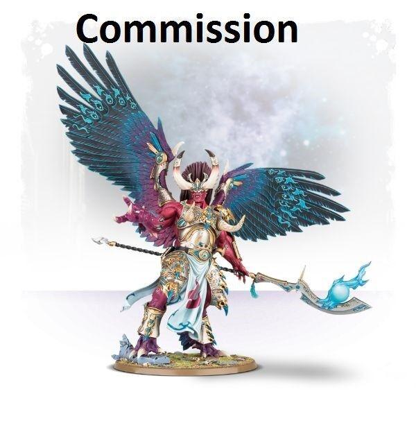Magnus the rouge Commission Superbly Painted Warhammer 40K   vente en ligne