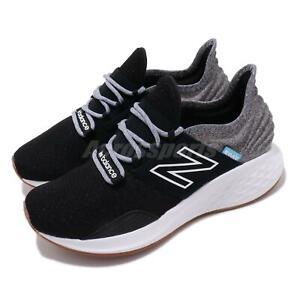 New-Balance-Fresh-Foam-Roav-Black-Grey-White-Gum-Women-Running-Shoes-WROAVTK-B