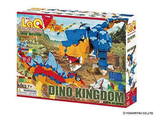YOSHIRITSU LaQ Dinosaur World Dino Kingdom NEW from Japan