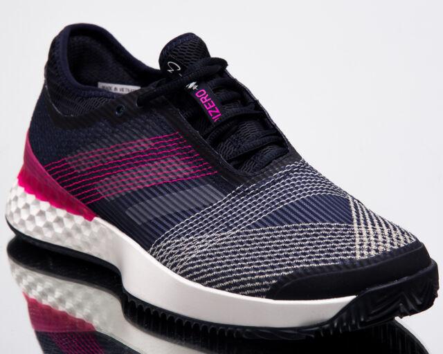 adidas adizero Ubersonic 3 Clay Men New Tennis Shoes Mens Navy White Pink AH2106