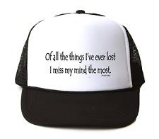 Trucker Hat Cap Foam Mesh I/'m The Captain Get Over It