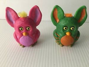 Burger-King-Furby-Toys-2005-Pink-Green