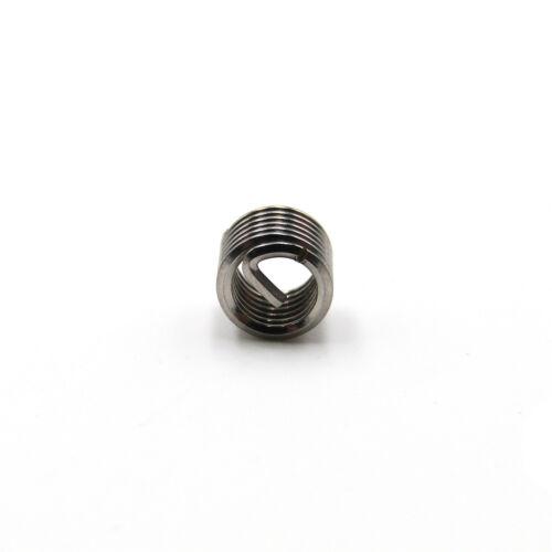 Helicoil Insert M6 x 1 x 1.5D 304 Stainless Steel Thread Repair Wire Insert PK50