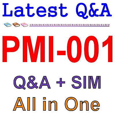 PMP Project Management Pro PMI PMBOK 5th Edition PMI-001 Exam Q&A PDF+SIM