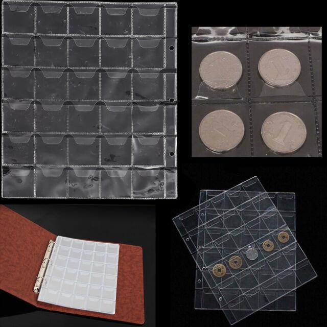 Collecting 30 Pockets World Coin Collection Storage Holder Money Album Book Set
