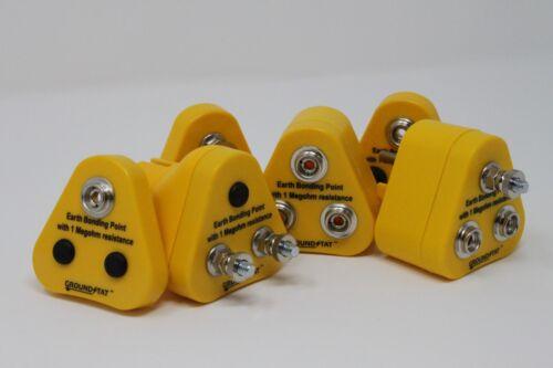 Anti Statique ESD Mise à la terre//Bonding Plug 1 x 10 mm Rivets /& 2 x M5 Post Euro Plug