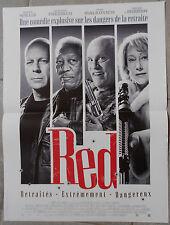 Affiche RED Helen Mirren BRUCE WILLIS Morgan Freeman 40x60cm