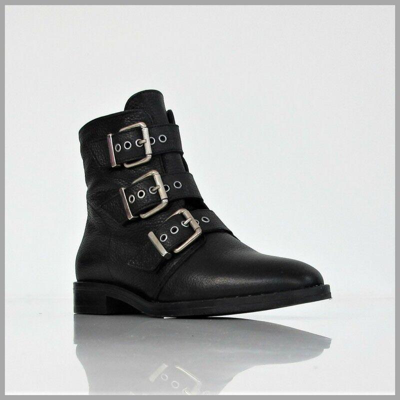 FÁBRICA DE COLLI botas bajo mujer 2STUD201 en negro invierno 2017