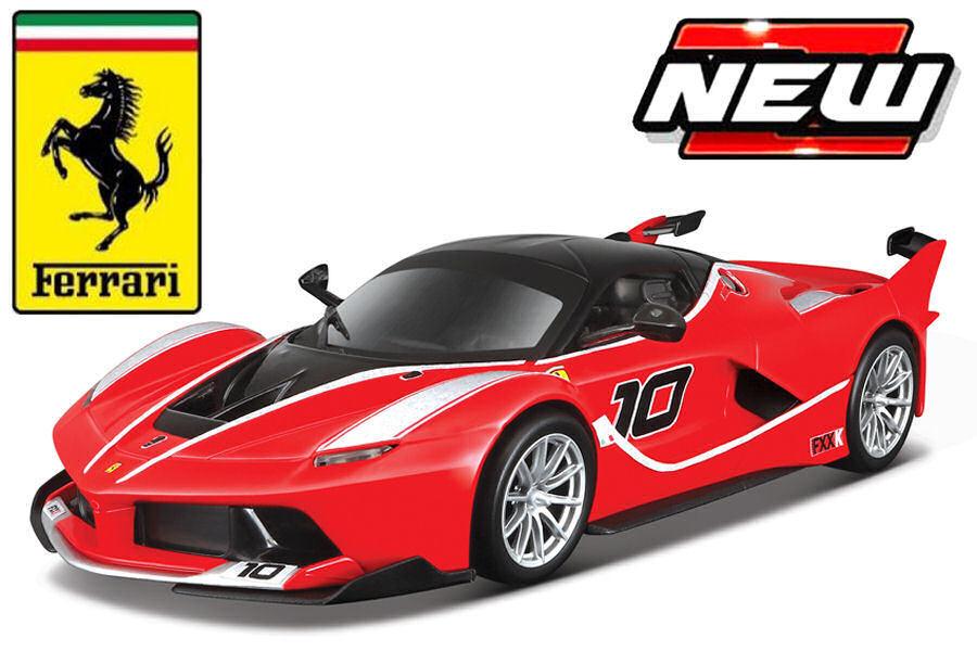 Ferrari FXX-K  10 rosso 1 18 Model BBURAGO
