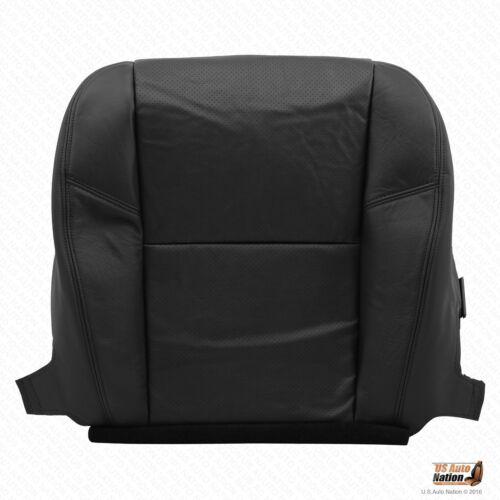 2007 2008 Cadillac Escalade Driver /& Passenger Bottom Leather Seat Cove BLACK