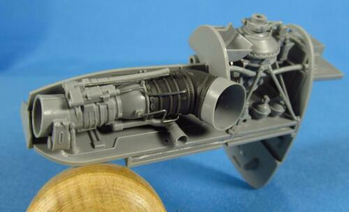 Metallic Details MDR4869 Mi-24 Exhaust pipes Zvezda 1//48 Set contains resin