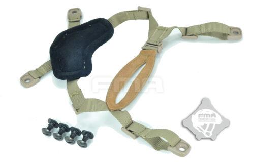 TB956-DE FMA Helmet General Suspension X-Nape DE