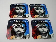 Les Miserables Theatre Poster COASTER Set