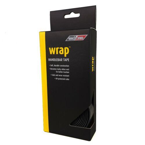 Black Multi-Colour Endzone Microfiber Wrap Road Bike Bar Tape