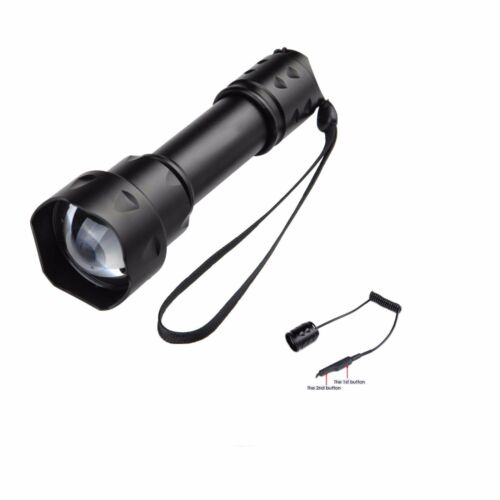 RAT TAIL T20 Zoomable OSRAM IR 850nm Infrared LED Night Version Flashlight