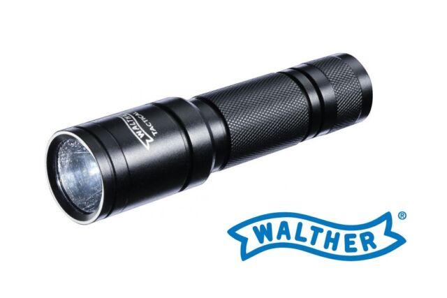 Walther TACTICAL 250 Taschenlampe 250 Lumen inkl 2 Batterien Neu OVP