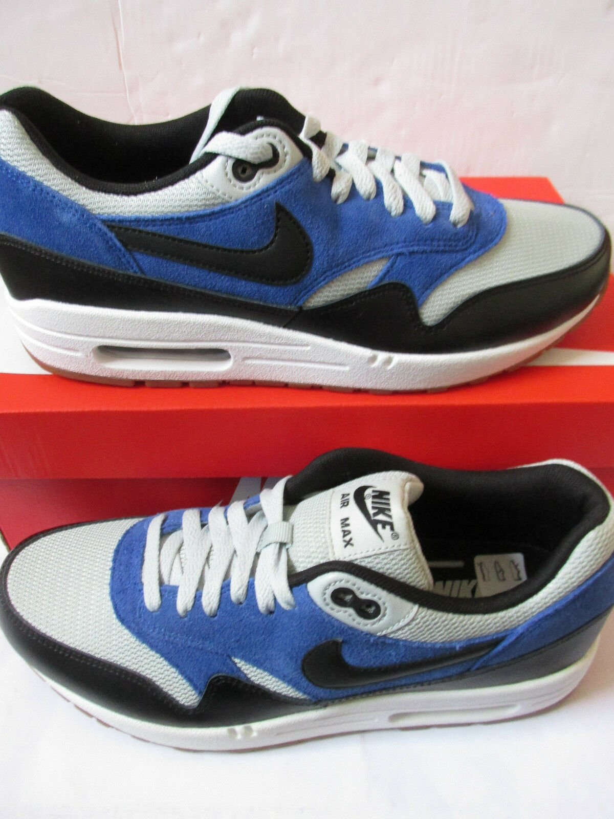 Nike Air Max 1 Essentielles Baskets Hommes 537383 022 Baskets