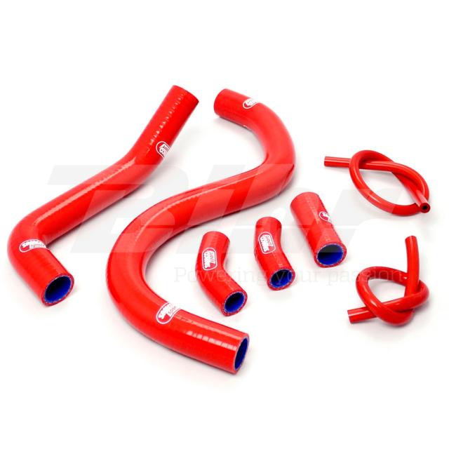 Samco Set Pipes Hoses Radiator Red Honda VFR RC36 750 1994-1997