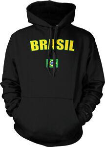 Brasil Country Flag - Braslia Brazil Brazilian Pride Hoodie Pullover