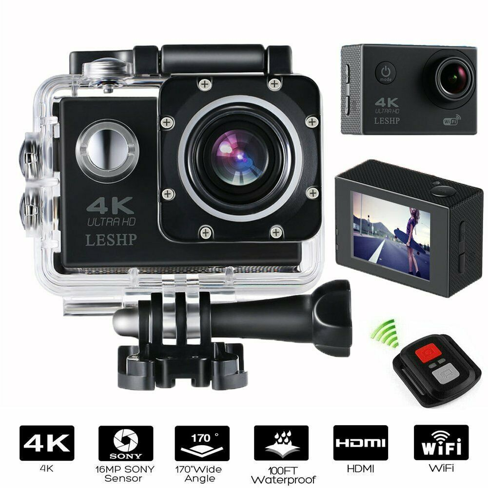 Full HD 1080P Sports WiFi Cam Action Camera DV Video Recorder Go Pro With TO