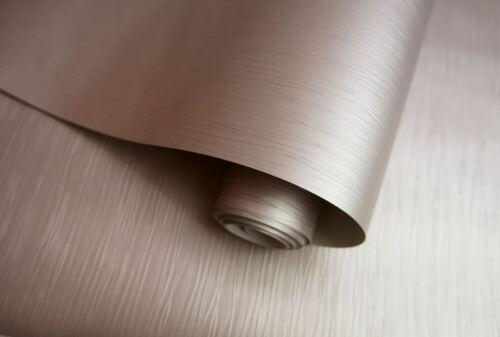 Holden Décor Shay Texturé Rayures Déclaration Métallique Papier Peint