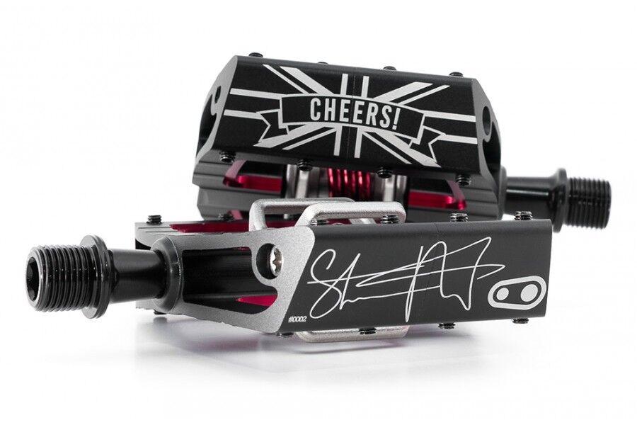 CRANKBredHERS Steve   Peaty    TORBA Mallet DH FIRMA edizione limitata pedali  high quality genuine