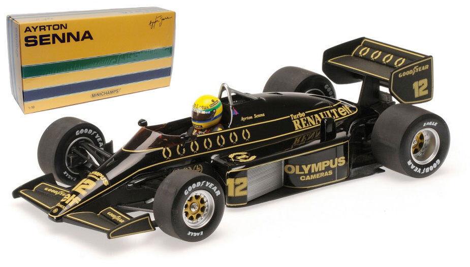 Minichamps Lotus Renault 97T 1985 - Ayrton Senna 1 18 Scale