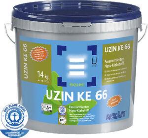 14Kg-6-90-pro-Kg-UZIN-KE66-Faserarmierter-PVC-Klebstoff-Vinylboden-Kleber