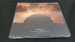 RARE-UK-CD-PROMO-INTERVIEW-OF-034-ROCK-IN-RIO-034-BRAND-NEW-amp-ORIGINAL-IRON-MAIDEN