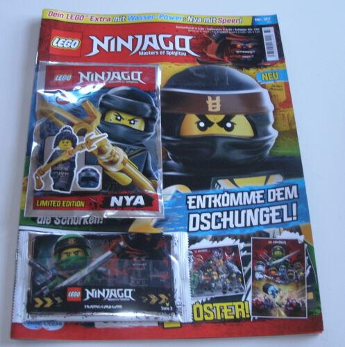 LEGO Ninjago Magazin Nr 37 mit Ninja Nya