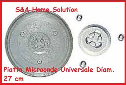 Z565 PIATTO MICROONDE UNIVERSALE DIAMETRO 270 mm PER MOLTE MARCHE