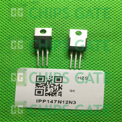 IPP114N12N3G  MOSFET N-CH 120V 75A TO220-3