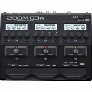 New-Zoom-G3n-Multi-effects-Processor-Auth-Dealer-Warranty-Best-Offer-Buy-it-now