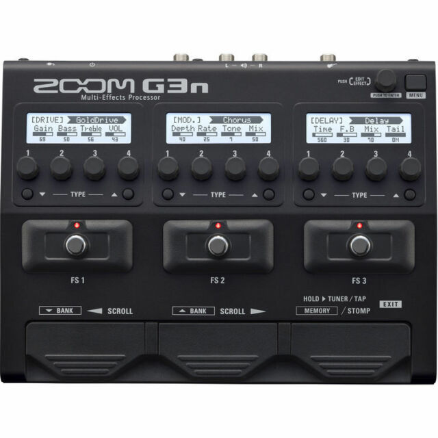 Like N E W Zoom G3n Multi-effects Processor Auth Dealer Opened Box Never Used!