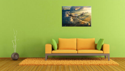 Spitfire mk1a Duxford N3200 2018 canvas prints  various sizes free delivery