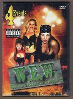 W.e.w. - Women's Extreme Wrestling Dvd Volumes 1-4