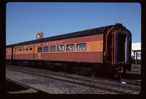 Original Slide SP Southern Pacific Daylight Paint Diner 290 In 1999
