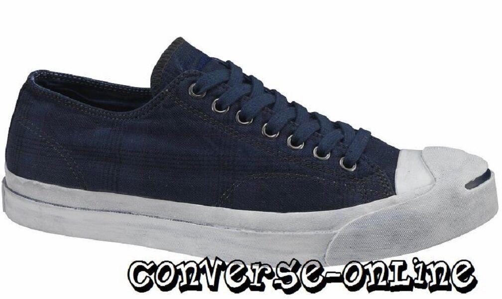 Converse Jack Purcell ® Hombre Azul Edición Limitada Buey lo Zapatillas Zapatos Uk Size 9