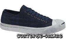 MEN CONVERSE JACK PURCELL® Blue GARMENT DYE PLAID OX Trainers Shoes 44 UK SIZE 9
