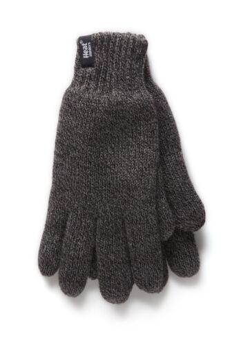 1 paire homme véritable chaleur support heatweaver thermique gants tog 2.3 gris l//xl