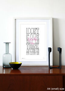 FALL-OUT-BOY-I-don-039-t-care-song-lyrics-typography-poster-art-print-5sizes-13