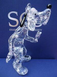 Swarovski-Figurine-Disney-Showcase-Collection-Goofy-Clear-Retired-in-2008