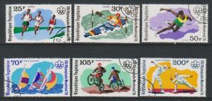 Togo - 1976, Olympic Games, Montreal set - CTO - SG 1144/49 (c)